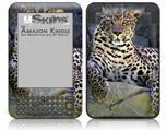 Leopard Cropped - Decal Style Skin fits Amazon Kindle 3 Keyboard (with 6 inch display)