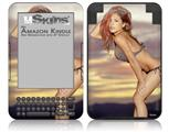 Michele Karmin 01 (MicheleKarmin.com) - Decal Style Skin fits Amazon Kindle 3 Keyboard (with 6 inch display)
