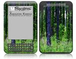 South GA Forrest - Decal Style Skin fits Amazon Kindle 3 Keyboard (with 6 inch display)